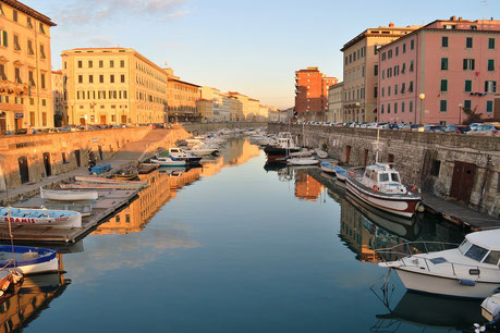 Livorno in the Morning Italy Jewish tour