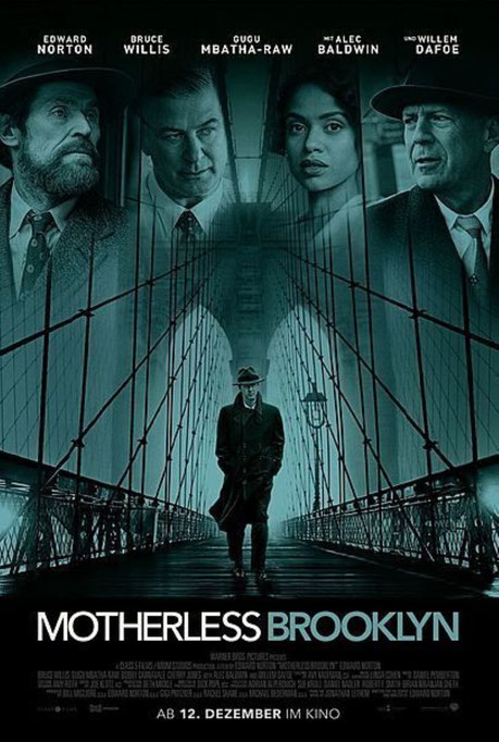 Motherless Brooklyn Plakat