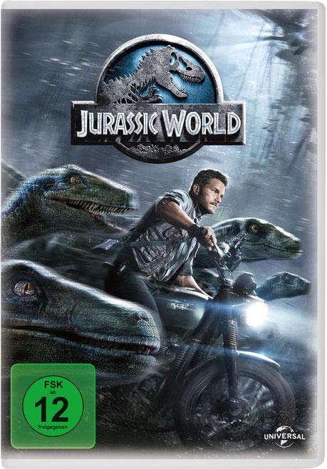 Jurassic World - Jurassic Park 4 - Universal - kulturmaterial - DVD