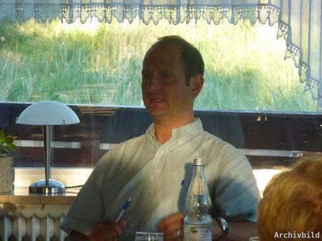 Wieder als 2. Vorsitzender der SG 03 Mitlechtern bestätigt: Michael Heumann