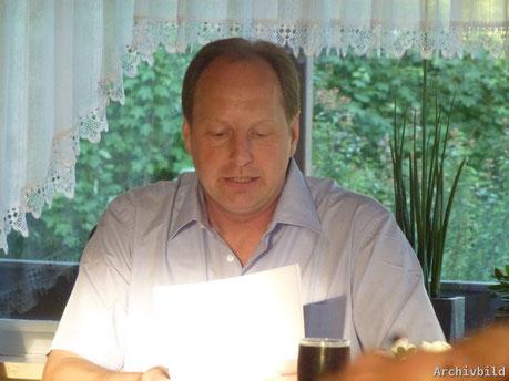 Erneut als 1. Vorsitzender der SG 03 Mitlechtern bestätigt: Dirk Schulz