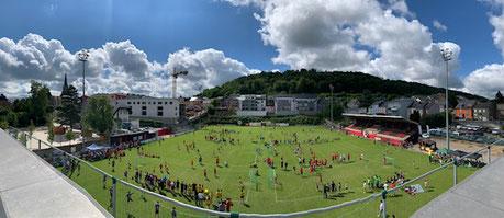 Futtballsterrain zu Rodange