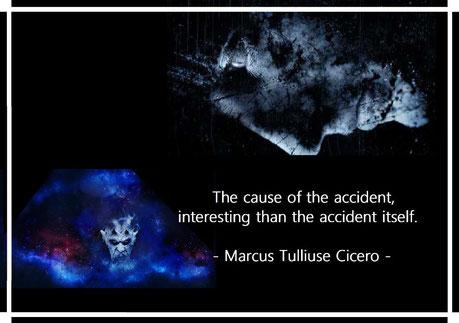 事故の原因は、事故そのものよりも興味深い。