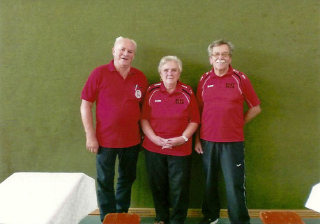 Manfred Glimm, Evi Schütze, Helmut Weber (Bild von links)