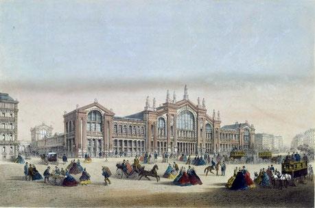 ... et en 1867 par le peintre Charles Riviere .