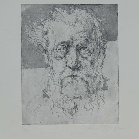 Druckgrafik Ernst Barlach Abstrakt