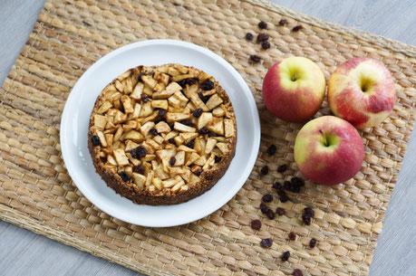 Zimtiger Apfelkuchen | clean & natürlich gesüßt