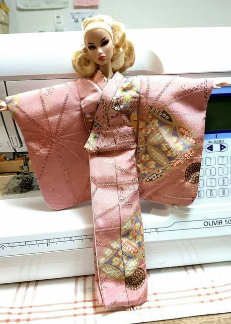 Fashion Royalty kimono,FR Dress,Agnes 着物