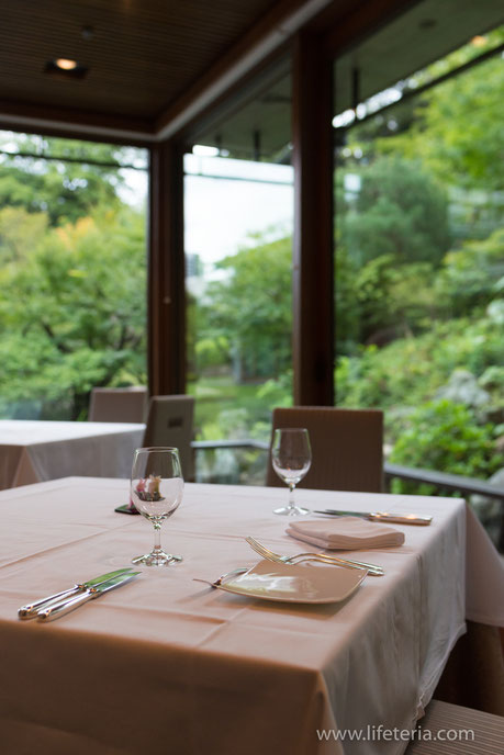LifeTeria ブログ 国際文化会館 レストランSAKURA