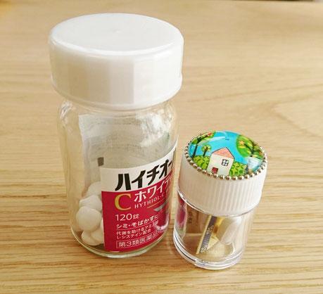 個包装のお薬は1つずつ中身を出さなくても収納できます♪