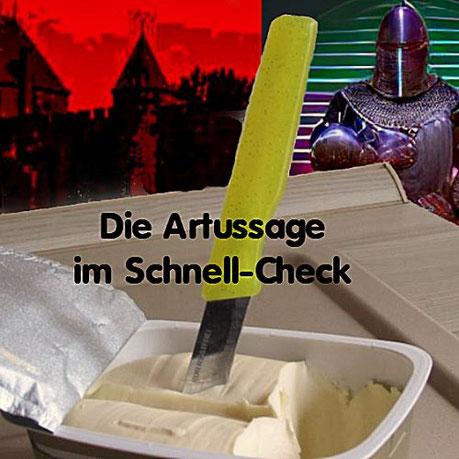 Die Sage von Excalibur in einer sehr freien Interpretation