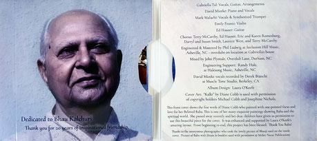 CD  Inside covers