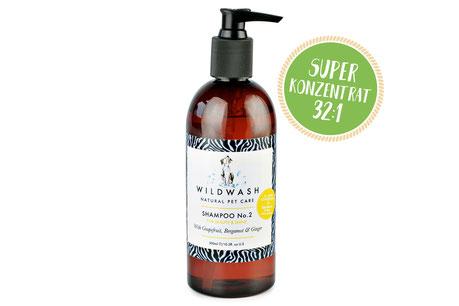Hundeshampoo natürlich vegan Stinky Dog Wild Wash
