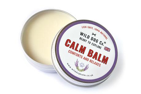 hundestrand natürliches Hundebalsam Beruhigung Wild Dog Calm Balm