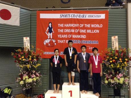 スポーツチャンバラ世界大会準優勝
