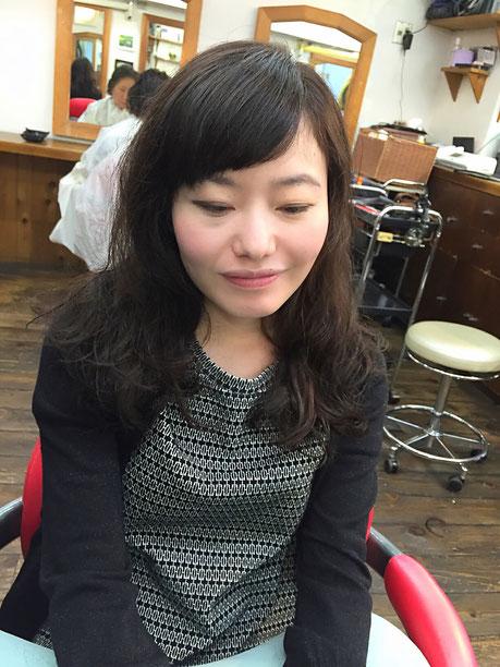 横浜・美容室☆女性の笑顔を作る専門家☆美容家 奥条勇紀 短め前髪