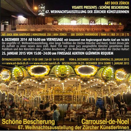 """If these wings could fly bei der Weihnachtsausstellung """"Schöne Bescherung"""" von 06.12.14 - 25.01.15"""