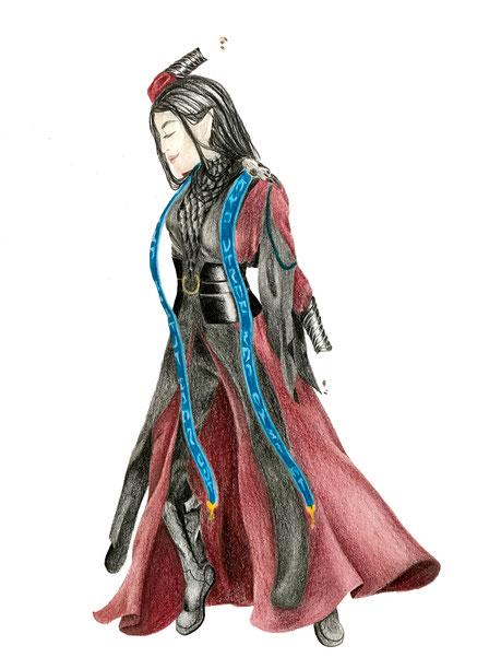 image: nina luca, ninaluca, shaman elve, shaman cosplay, shaman elve cosplay, cosplay project 2018, nina luca cosplay