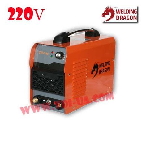 Инверторная плазма CUT-40-220V Welding dragon