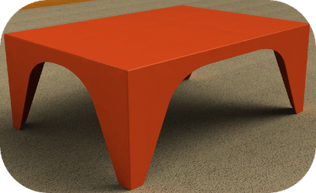 table-basse-flashy-orange-design