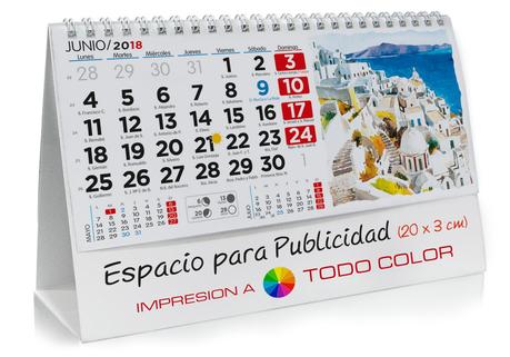 Calendario sobremesa de Pintuas