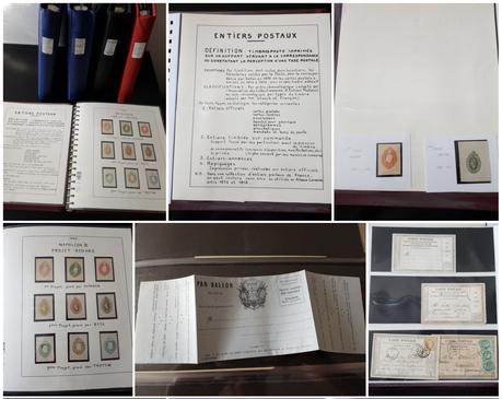 Collection de France sur les entiers postaux des classiques aux illustrés des années 1930-50 (vendue)