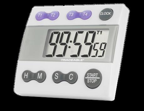 Timer contador de cuatro canales con certificado trazable a NIST 5004