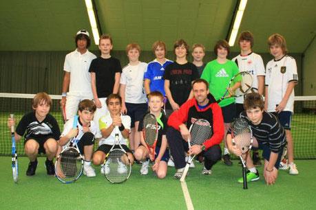 SKG Stockstadt Tennis - Internes Jungen-Doppel-Hallen-Turnier