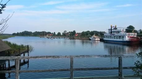 Prerow Hafen Schifffahrt auf dem Bodden