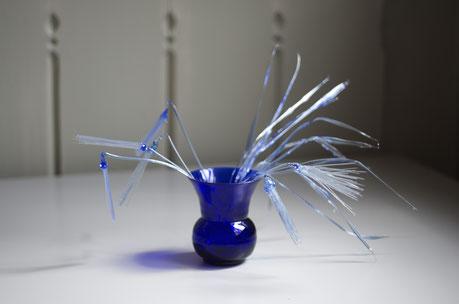 Cobalt Blue Still Life - Masami Hirohata