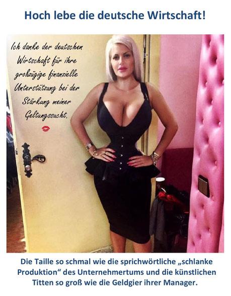 Sophia Vegas, Fachfrau für Bjudie und große Hupen.