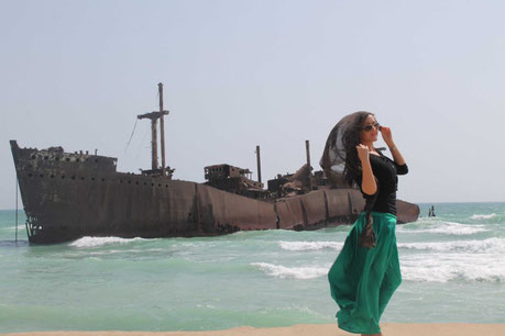 Kish, Kish eiland, zonvakantie, strandvakantie, Perzische golf, Grieks schip