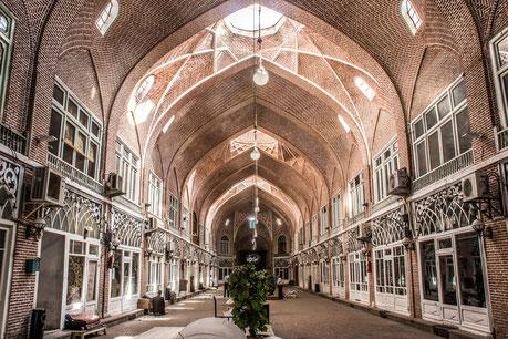 Tabriz, Bazaar van Tabriz