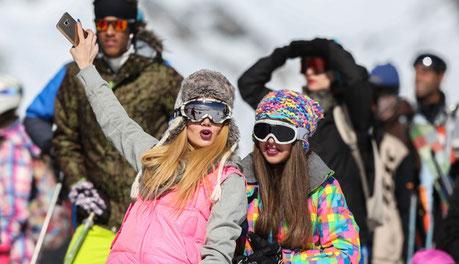 Dizin, Shemshak, skivakantie, skiën, skipiste, Iran