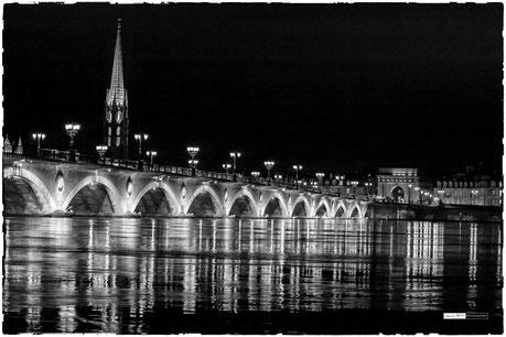 Marée haute à Bordeaux