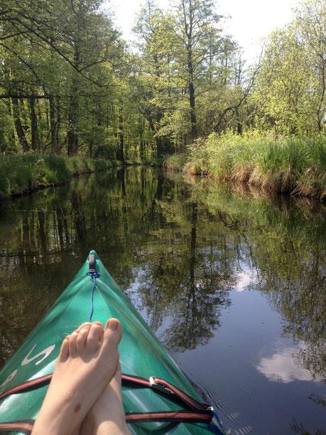 Paddeln in Mecklenburger Seenplatte Urlaub