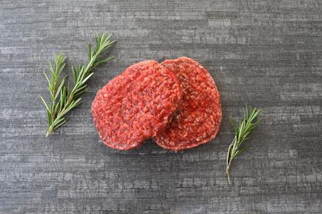 Burgerpatties aus Cow-Sharing Fleisch von Plate Galloway - 100% lecker