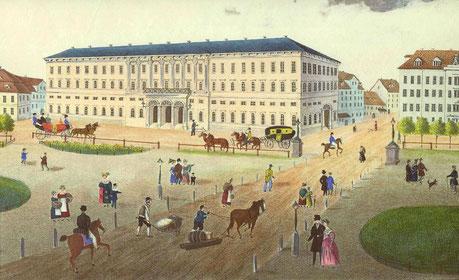 Das neue Postgebäude von Leipzig Quelle: Wikipedia