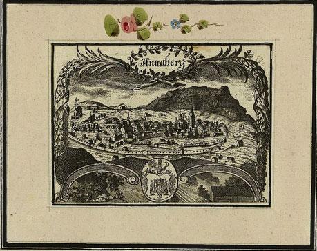 Annaberg im Jahre 1750