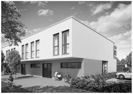 Der Immobilienmakler Matthias Pfeifer vermittelt und verkauft Immobilien im Rhein-Main-Gebiet. Modernes großzügiges Reihenendhaus mit Innenhof