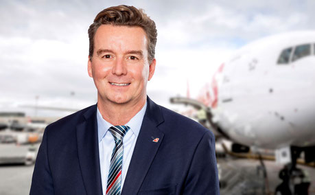 Hendrik Falk is responsible for Swiss WorldCargo's business in the western and southern part of the USA, including Latin America  -  courtesy: Swiss