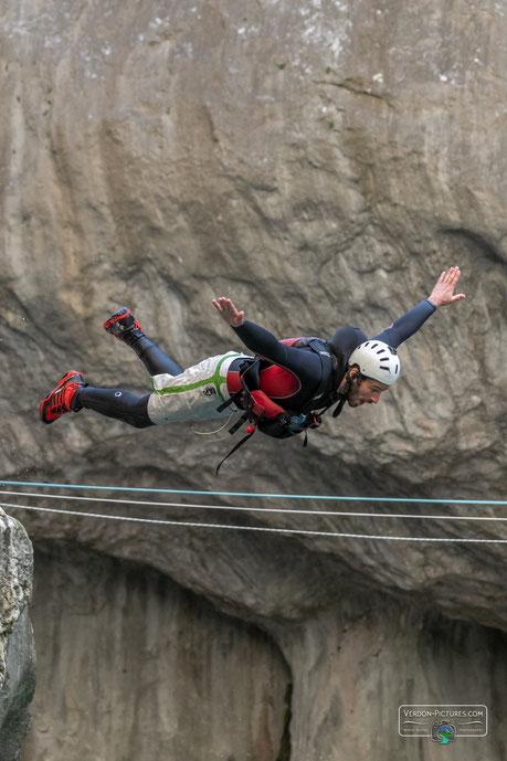 Canyoning provence, canyoning gorges du verdon, canyoning castellane verdon, canyoning PACA verdon castellane