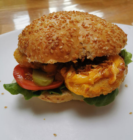 Le burger classique de Mitroglute