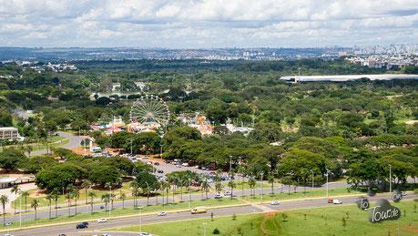 Brasilia - unser Stellplatz im Stadtpark