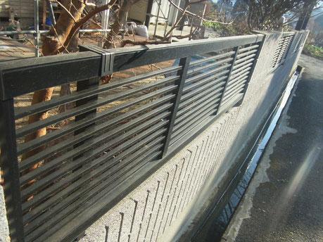 フェンス 高圧洗浄 熊本