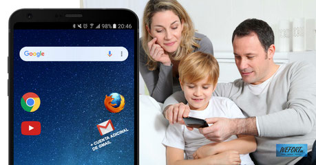 Usar una aplicación extra para que tus hijos vean vídeos en tu móvil