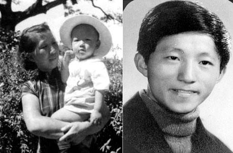 Charles Zhang, son of Chang Pao Cun and his mother Fang Huiqin