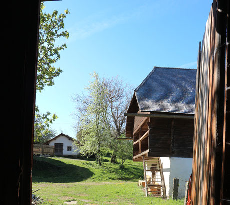 Für Besucher öffnet der Steinhof gerne seine Türen.