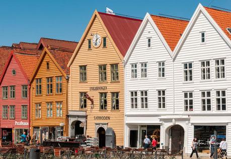 Bergen, Norwegen, Ulriken, Tyske Brygge