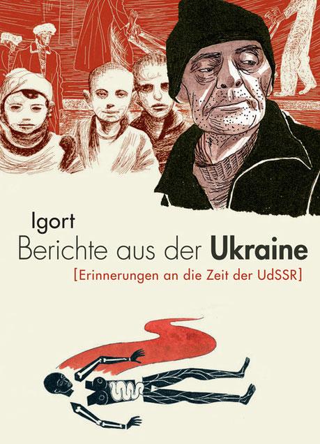 """Cover von Igorts """"Berichte aus der Ukraine"""""""